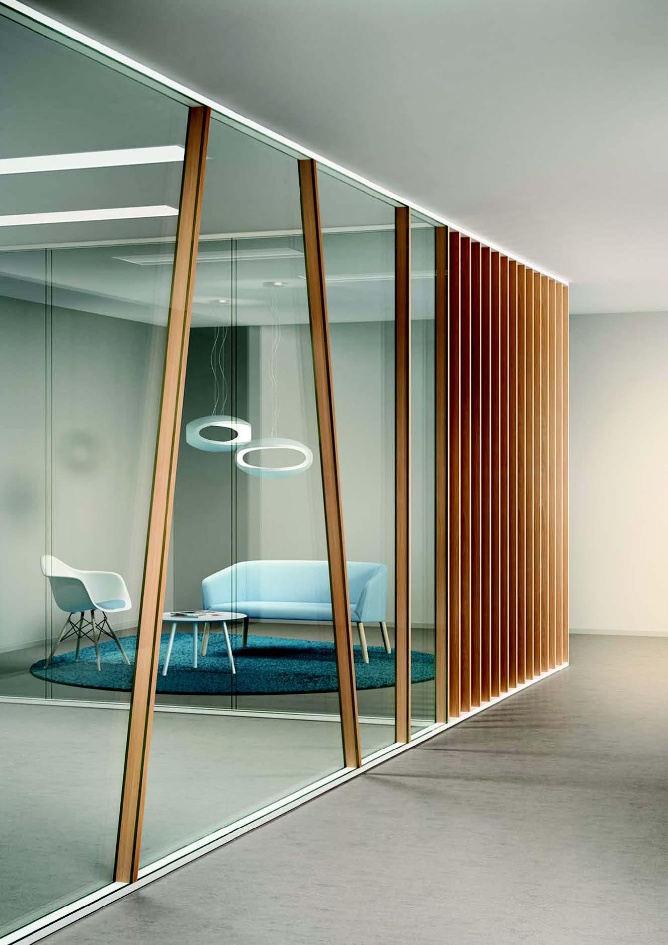 Cloison bois design