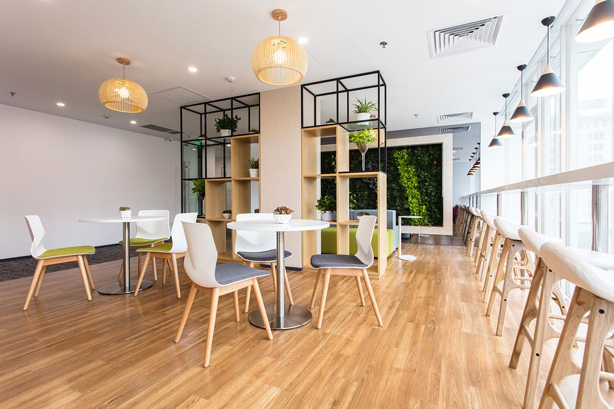Aménagement de cuisine d entreprise et cafétéria pour bureaux