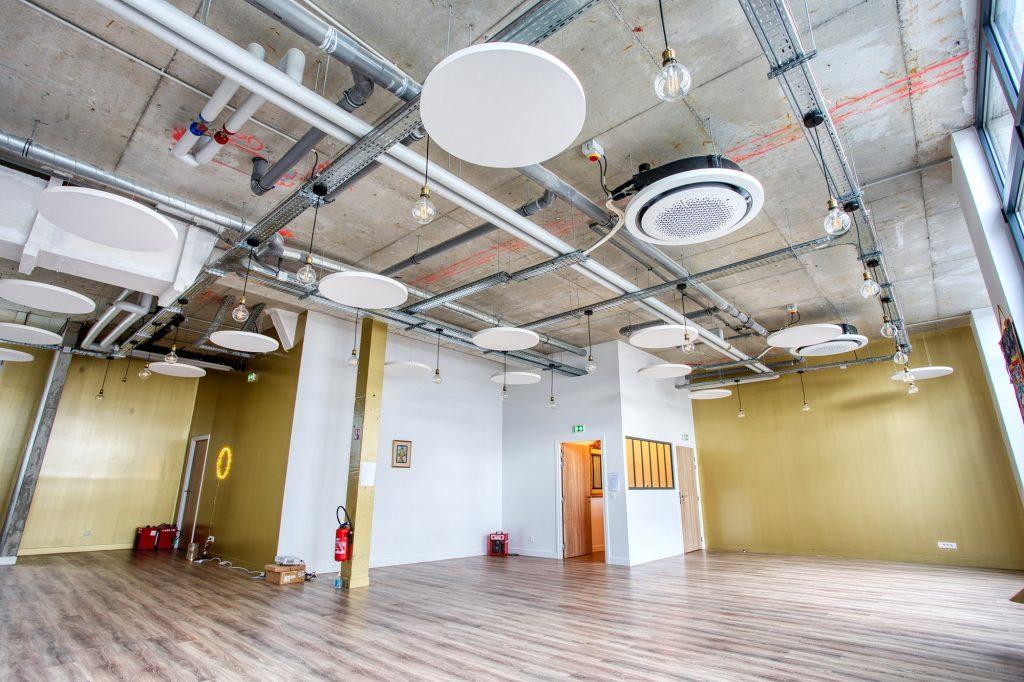Plafond Industriel - Studio - Yog'N'move - Isospace